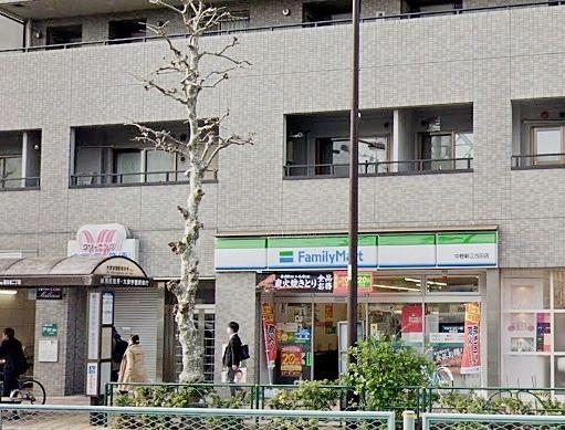 ファミリーマート中野新江古田店 元はサンクスでした