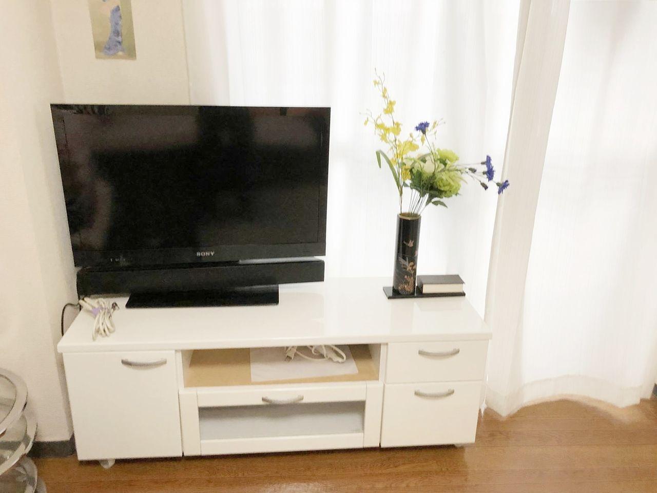 GSハイム佐藤ビル804号室は家具家電付きでテレビも付いてます