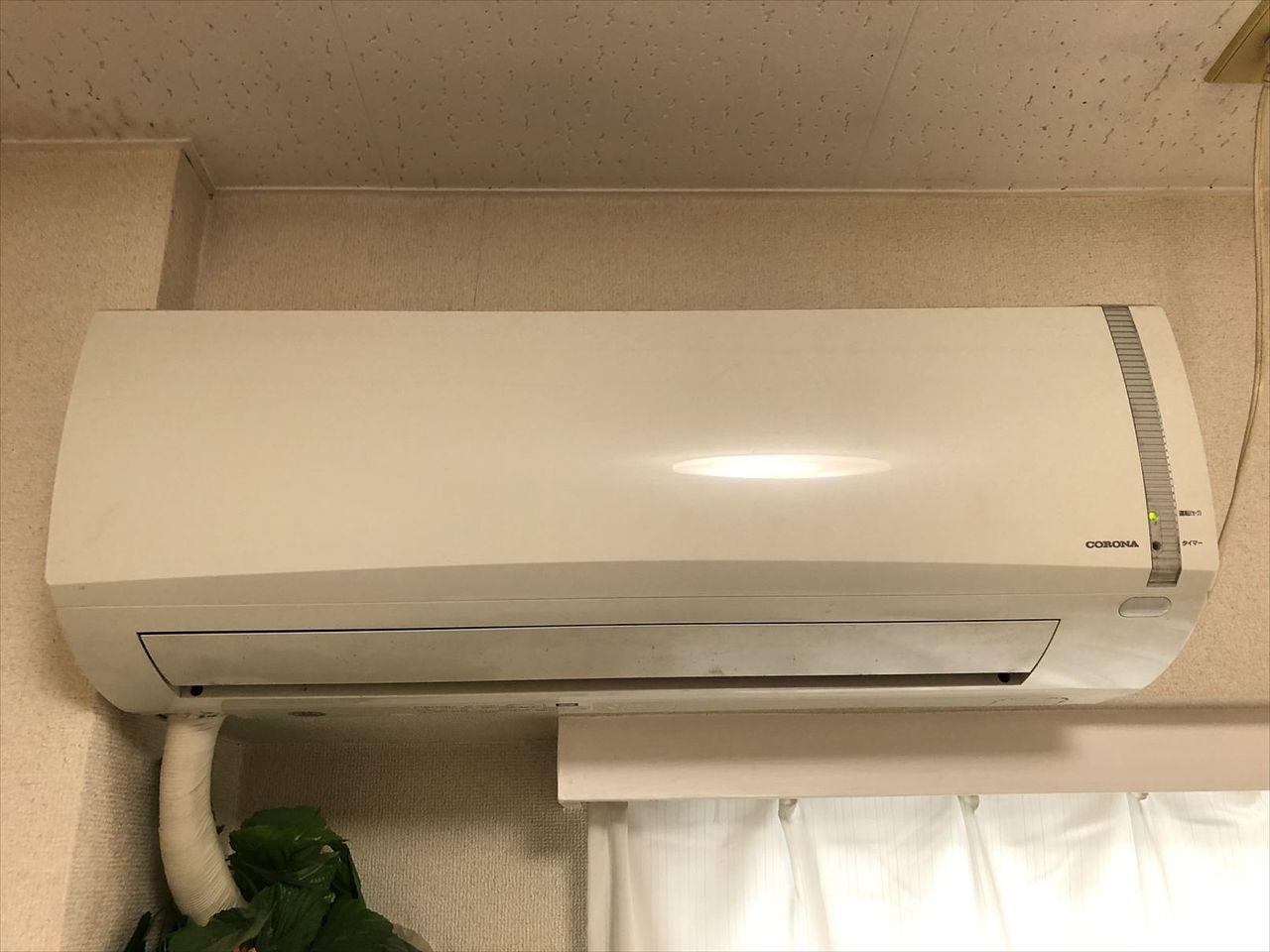 当たりまえですがGSハイム佐藤ビル804号室はエアコン付きです