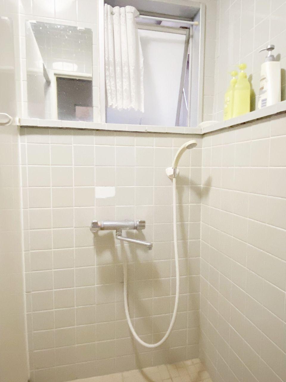 男女別のシャワー室があります。シェアハウス池袋