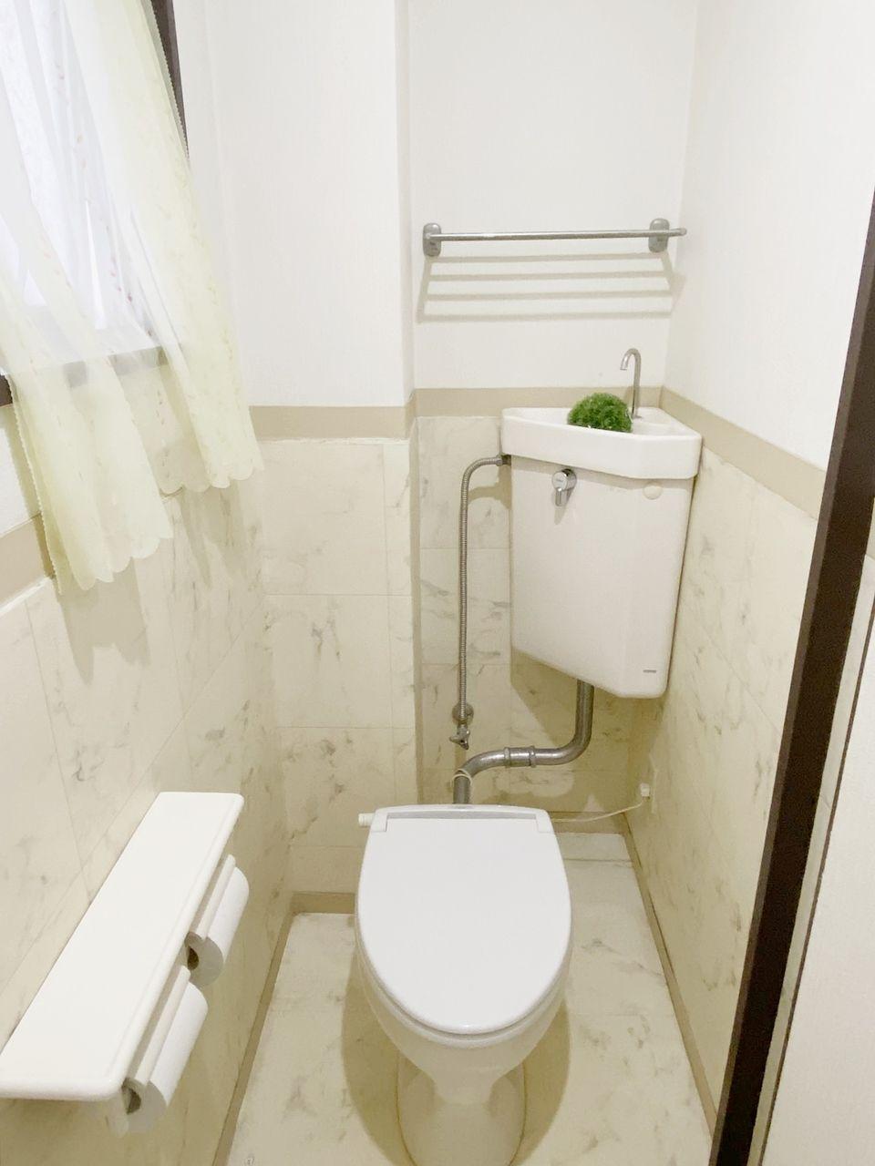 トイレは男女別 ウォシュレット設置済みです シェアハウス池袋