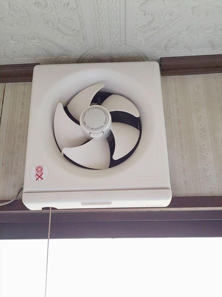 池袋の賃貸マンション サンコーポⅠ キッチンに換気扇あり