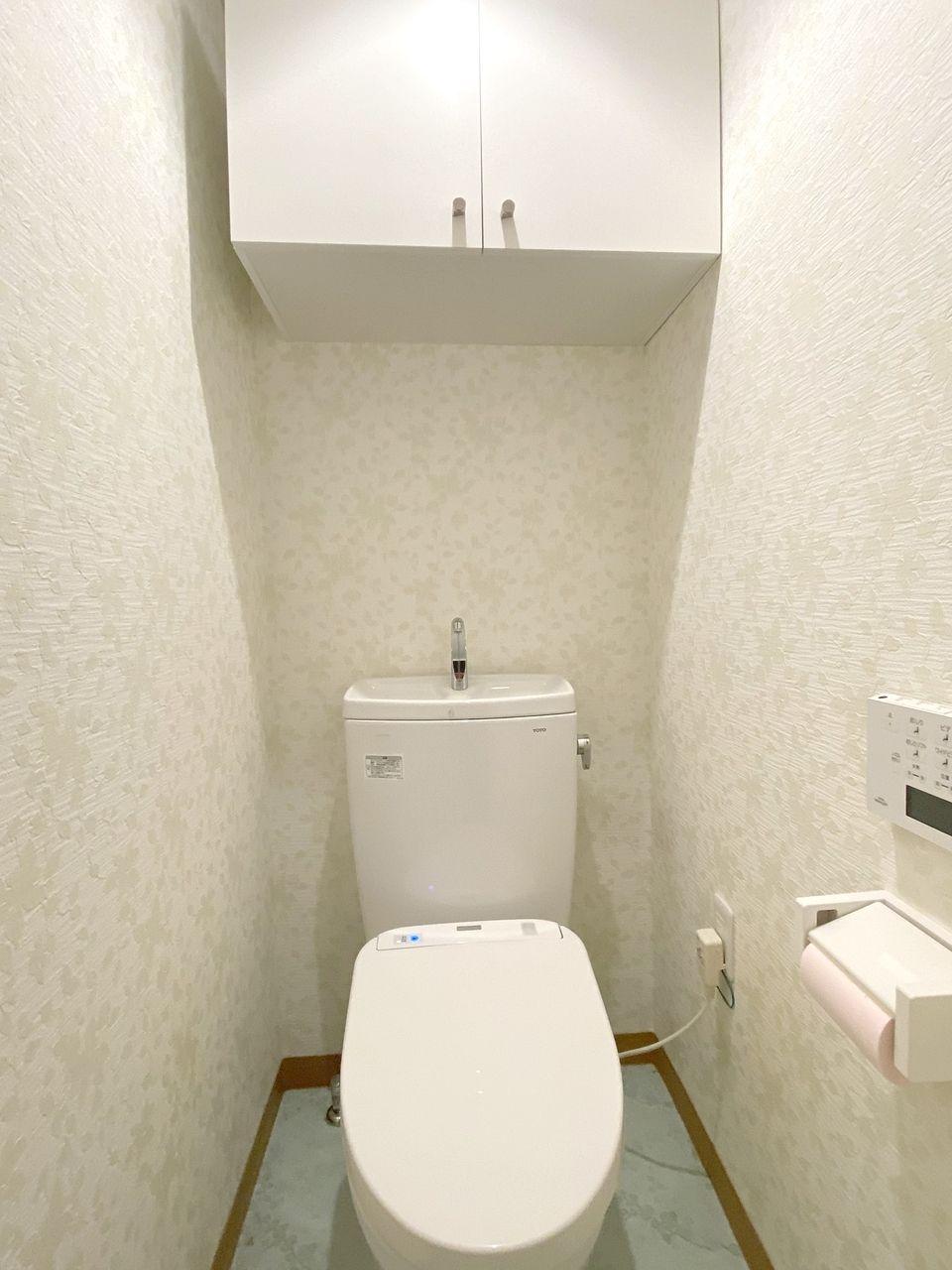 バス・トイレ別のトイレです。2015年に新品に交換。ウォシュレットです