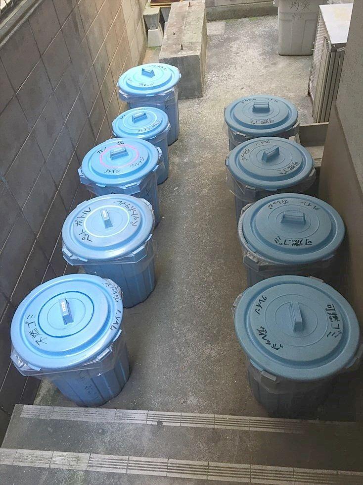 クレインヴィレッジはゴミ置き場があり分別して24時間ゴミ出し可能です