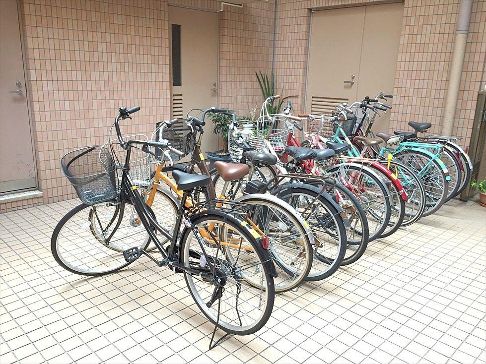 1台駐輪可能です。※無料です