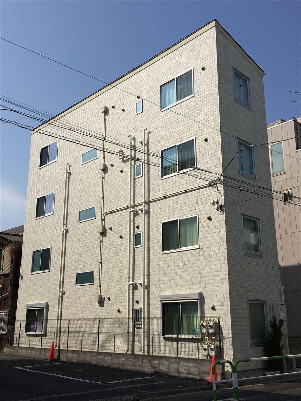 豊島区千早の賃貸マンション オーレ池袋西の外観です
