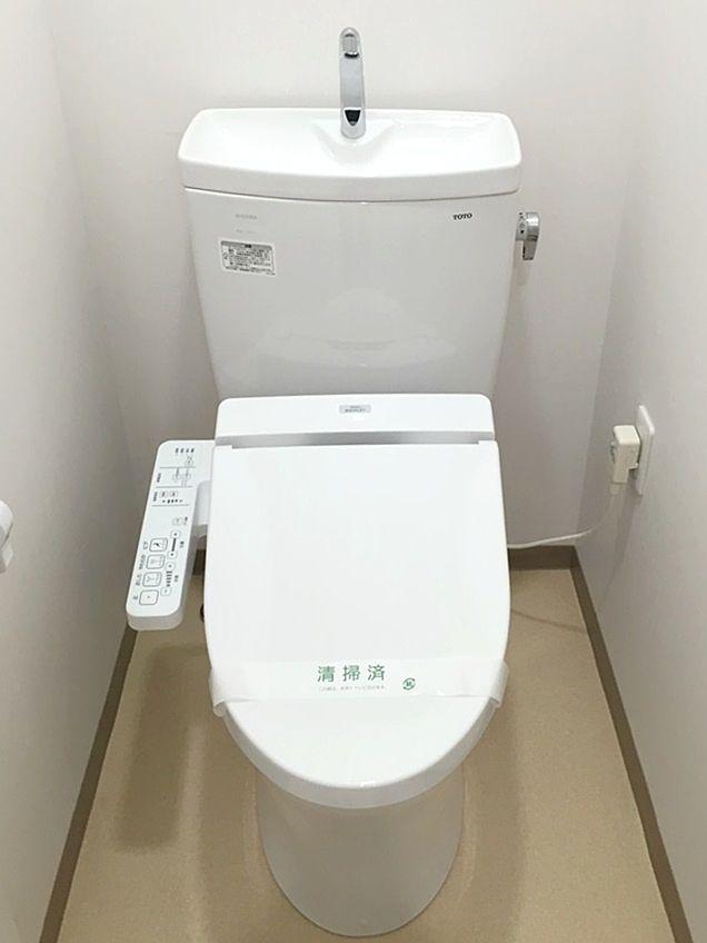 バス・トイレ別です。ウォシュレットに変更しています