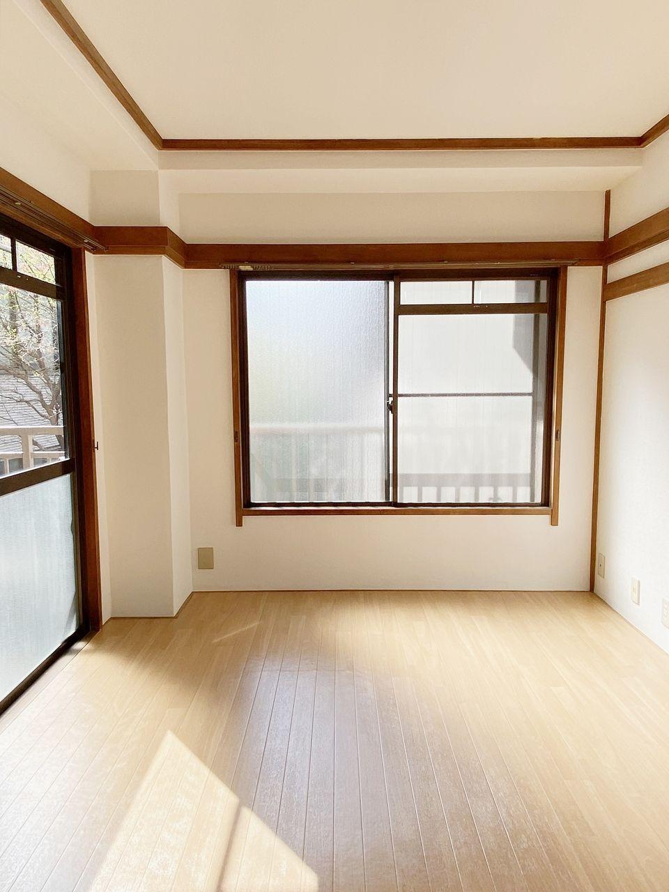 成田ハイツ202号室 和室を洋室にリフォームしました