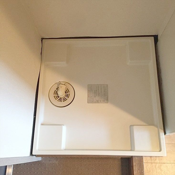 室内洗濯機置き場です。池袋の賃貸マンション ヴェル・エアー