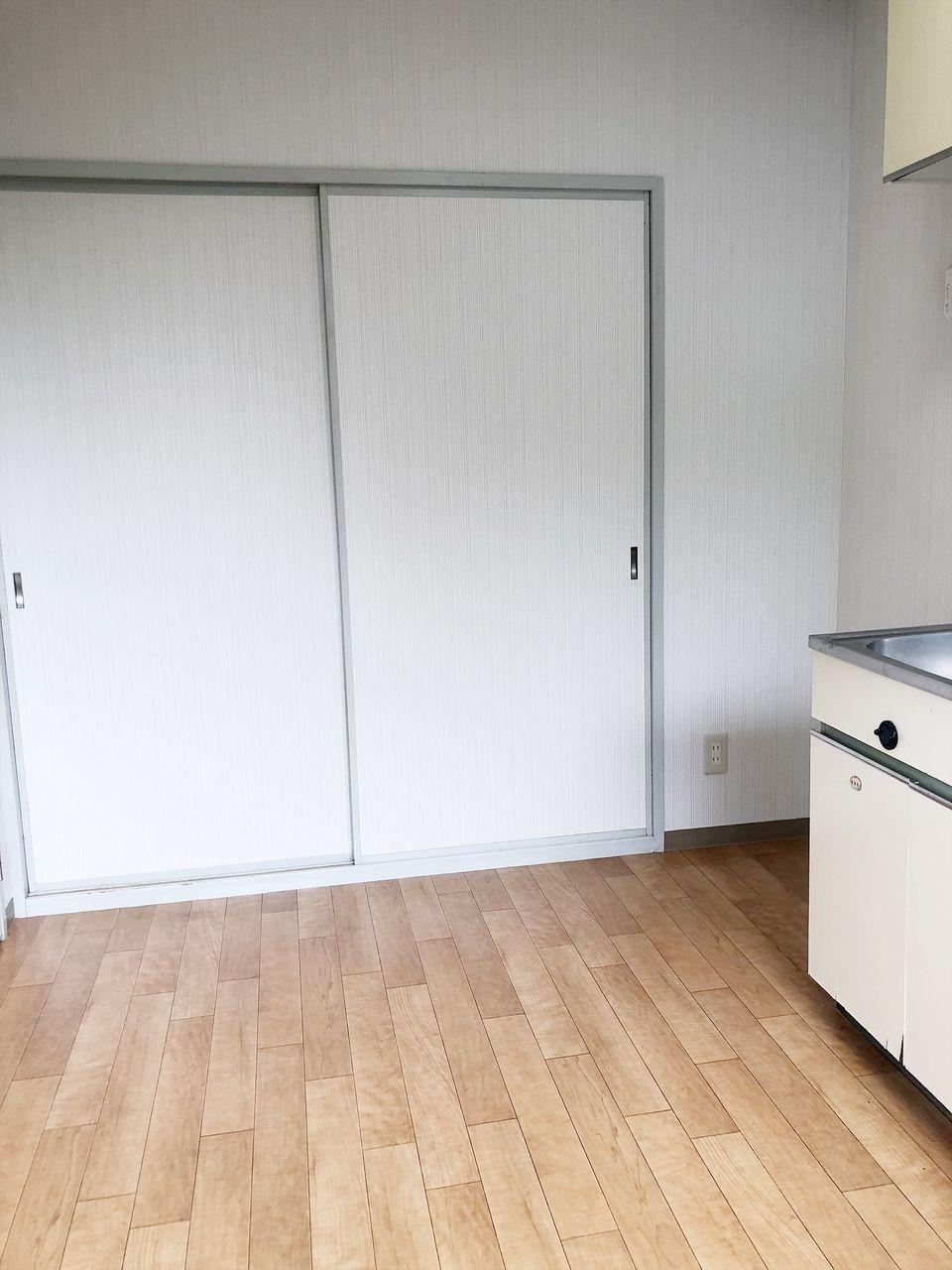 第1江原青木ハイムのキッチンです
