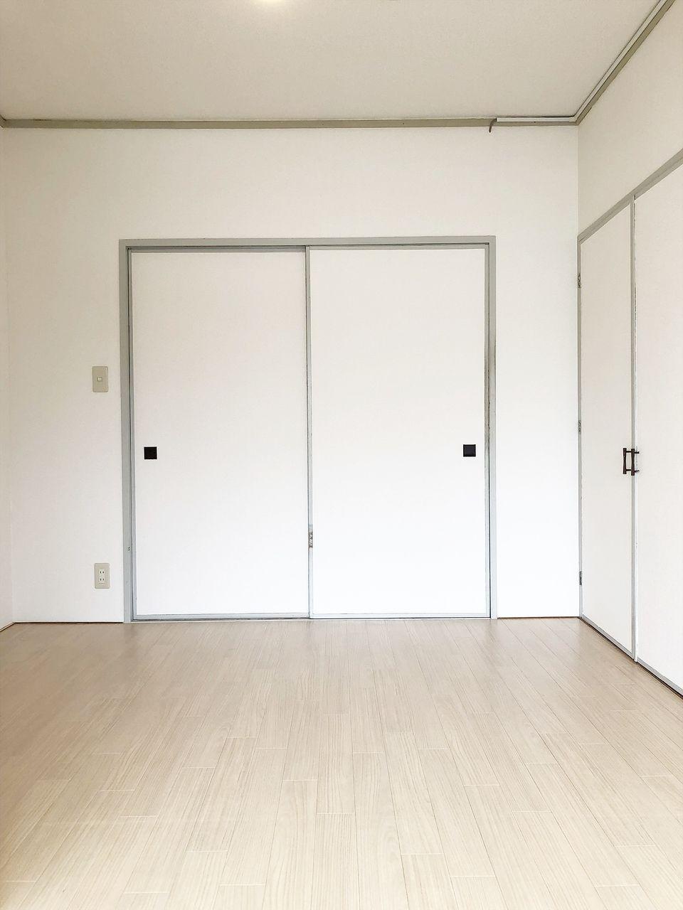 第1江原青木ハイム 和室を洋室にリフォームしました。