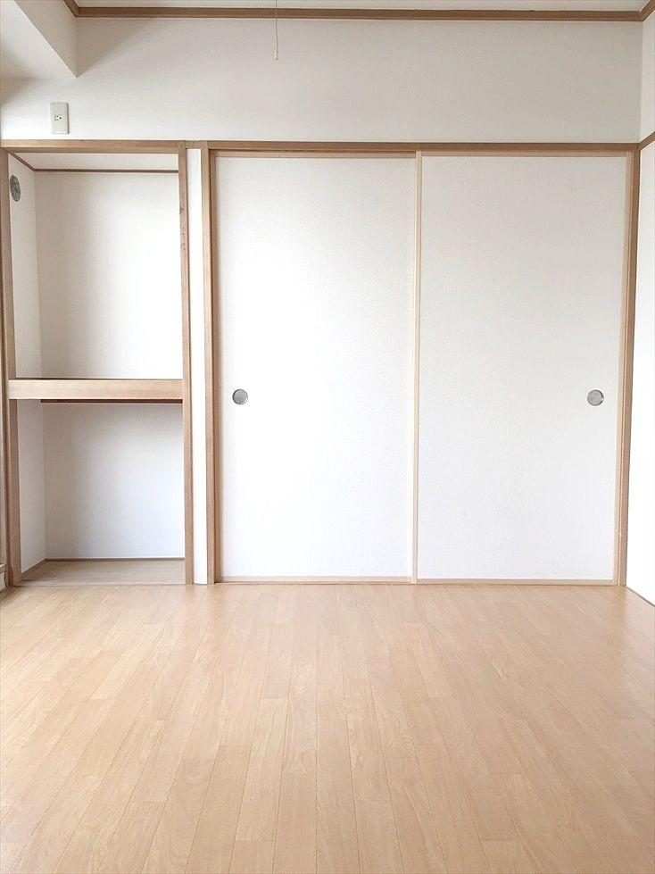 クレインヴィレッジ205号室 和室を洋室にリフォームしました