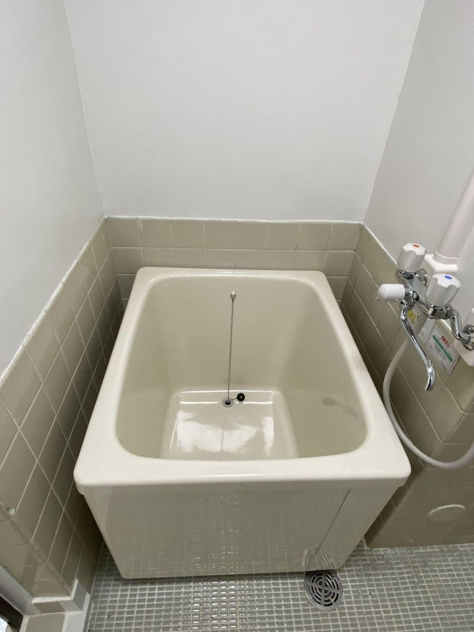 ハセガワハイツ バス・トイレ別のバスタプです