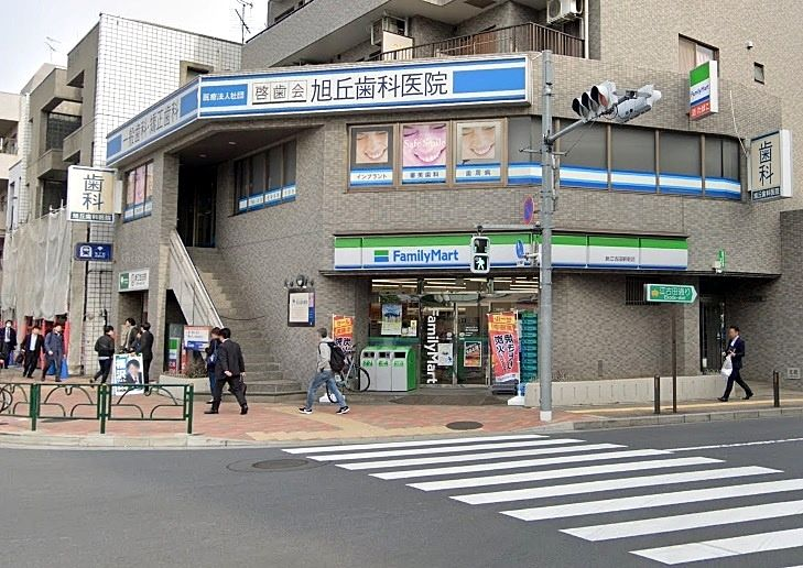 ファミリーマート新江古田駅前店 元はサンクスでした