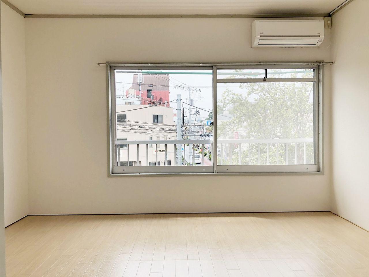 第2江原青木ハイム 和室を洋室にリフォーム。