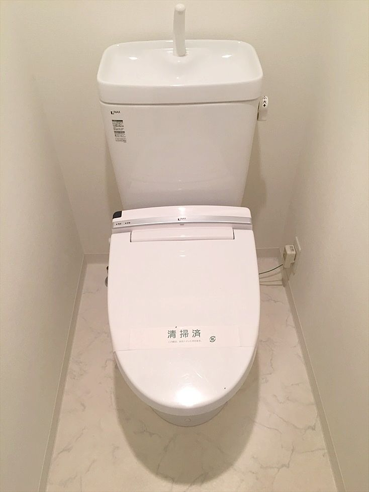 ライオンズクオーレ池袋ソシア バス・トイレ別のトイレ ウォシュレットです