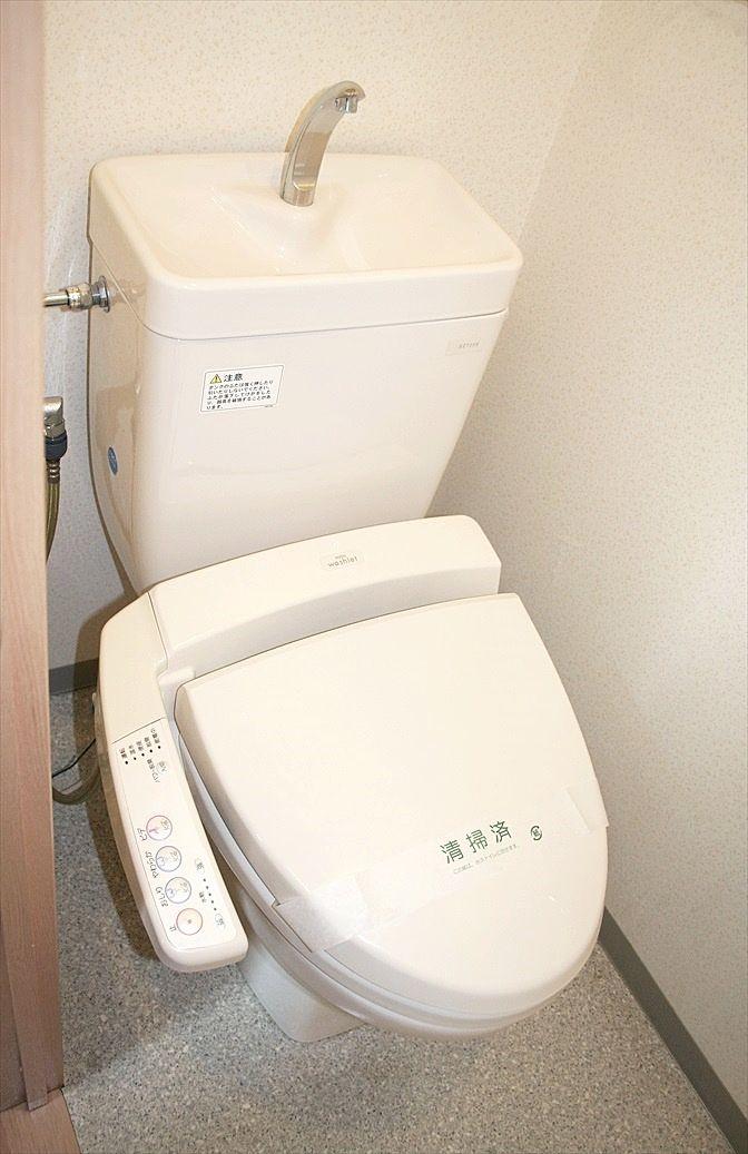 バス・トイレ別のトイレです。ウォシュレット設置済みです