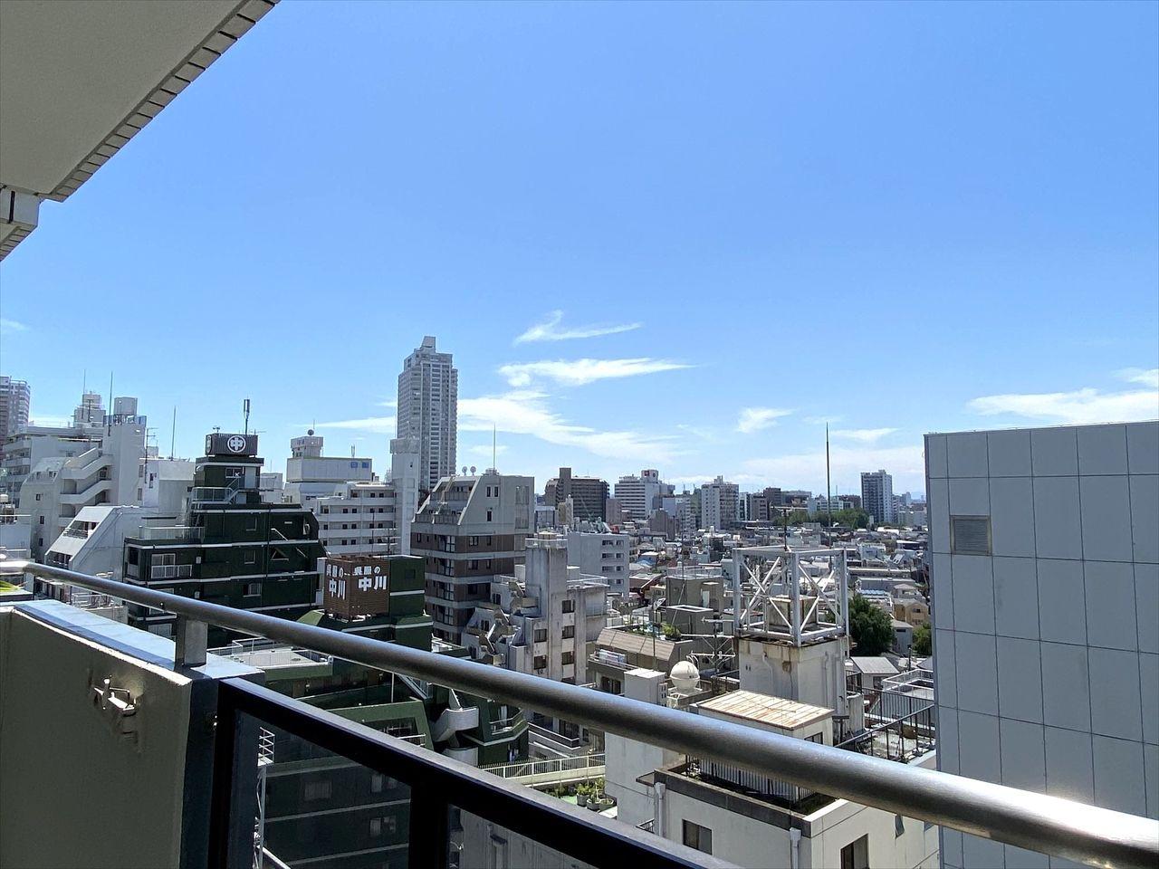 池袋の分譲賃貸マンション 池袋ダイカンプラザ1102号室。最上階のお部屋で日当たり良好、晴れた日には富士山も見えます。ファミリー向きのお部屋ですがルームシェアも可能です。