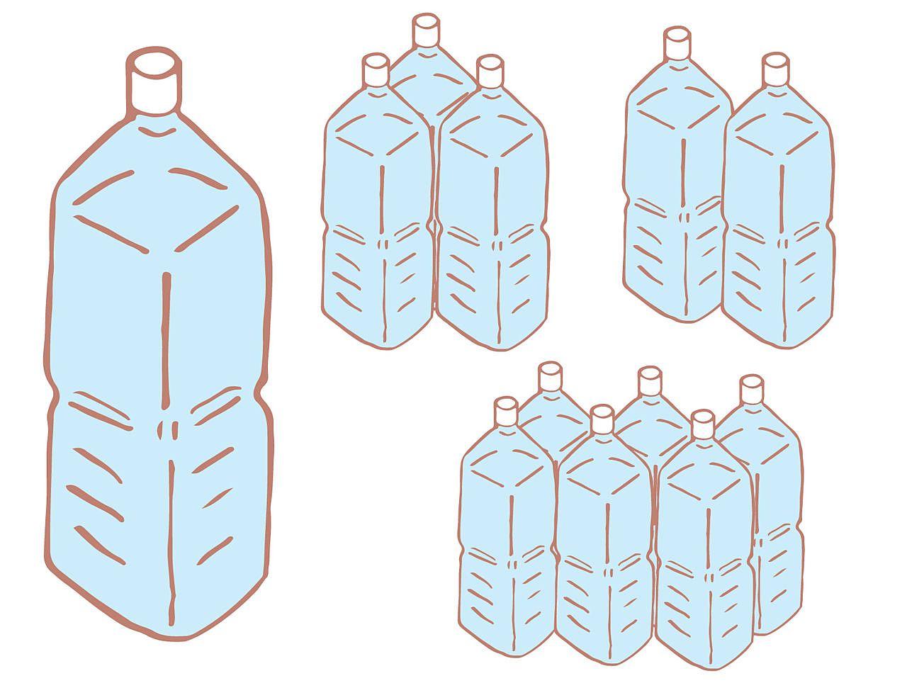 『飲料水』は直接飲むものと料理に使うもの合わせて最低1人1日2l必要です