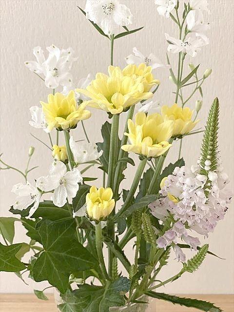 季節の花が元気を運んでくれます