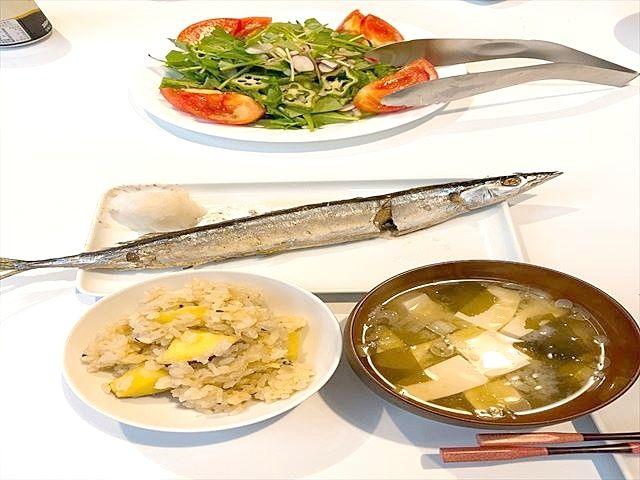 秋刀魚・きのこ・さつまいも・栗・柿・葡萄・・・