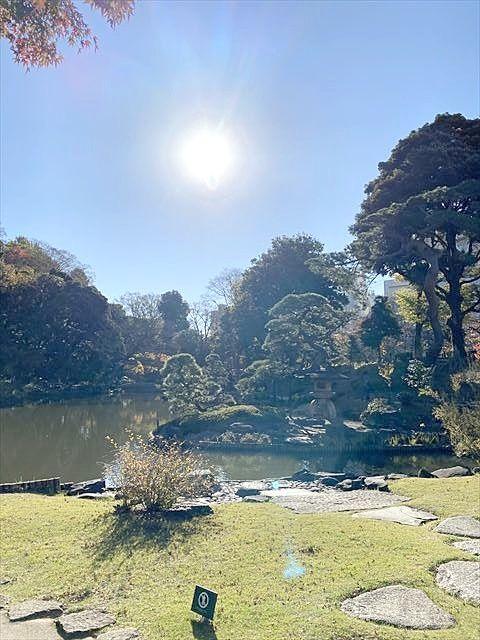 """椿山荘の裏にある """"肥後 細川庭園"""""""