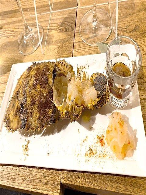 殻を見るとグロテスクだけど、味は美味!!