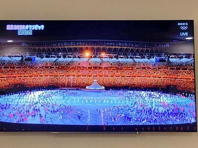 オリンピック2021開幕